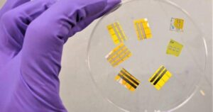 First light-up OLED tattoos could monitor health, reduce food waste, or just…